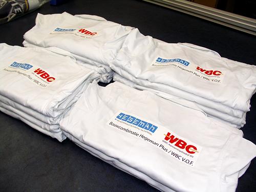 Hegeman WBC textiel bedrukken