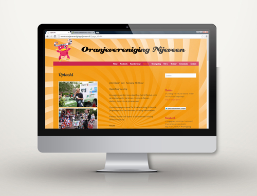 oranjevereniging-nijeveen-laptop-CMS-website